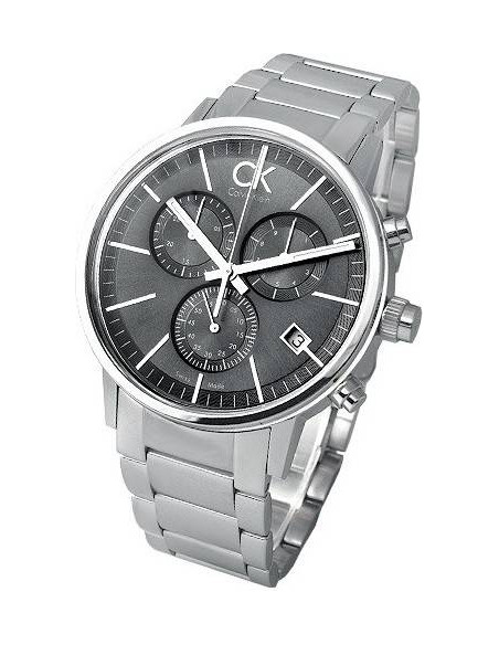 Chic Time | Montre Calvin Klein CK Chrono Post-minimal K7627161  | Prix : 297,42 €