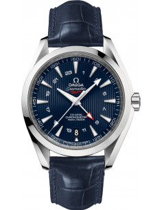 Chic Time | Montre Homme Omega Seamaster 23113432203001 Bleu  | Prix : 6,500.00