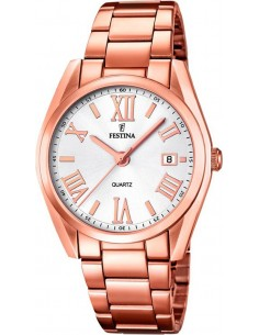 Chic Time | Montre Femme Festina Boyfriend F16793/1 Or Rose  | Prix : 129,00 €