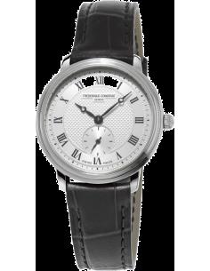 Chic Time | Montre Homme Frédérique Constant Slimline 235M1S6 Noir  | Prix : 595,00€
