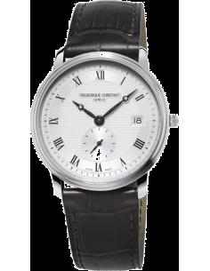 Chic Time | Montre Homme Frédérique Constant Slimline 245M4S6 Noir  | Prix : 750,00€