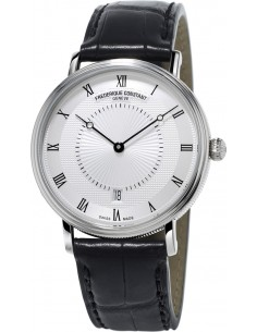 Chic Time   Montre Homme Frédérique Constant Slimline 306MC4S36 Noir    Prix : 1,895.00