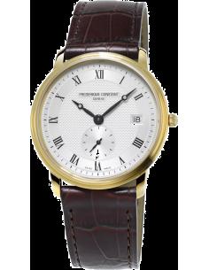 Chic Time | Montre Homme Frédérique Constant Slimline 245M4S5 Marron  | Prix : 870,00€
