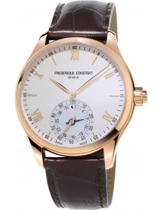 Chic Time | Montre Homme Frédérique Constant Horological SmartWatch 285V5B4 Marron  | Prix : 1,295.00