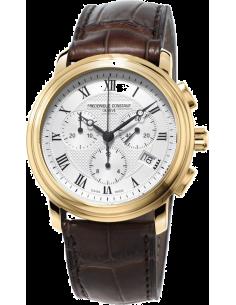 Chic Time | Montre Homme Frédérique Constant Classics 292MC4P5 Marron  | Prix : 895,00€