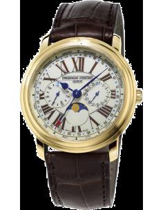 Chic Time | Montre Homme Frédérique Constant Classics 270EM4P5 Marron  | Prix : 1,050.00