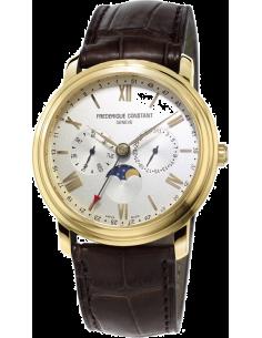 Chic Time | Montre Homme Frédérique Constant Classics 270SW4P5 Marron  | Prix : 1,050.00