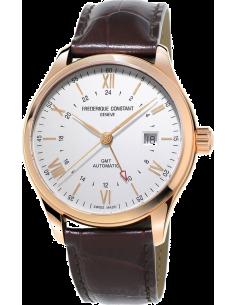 Chic Time | Montre Homme Frédérique Constant Classics 350V5B4 Marron  | Prix : 2,250.00