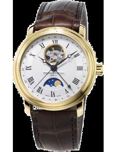 Chic Time | Montre Homme Frédérique Constant Classics 335MC4P5 Marron  | Prix : 1,950.00