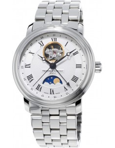 Chic Time | Montre Homme Frédérique Constant Classics 335MC4P6B2 Argent  | Prix : 1,890.00