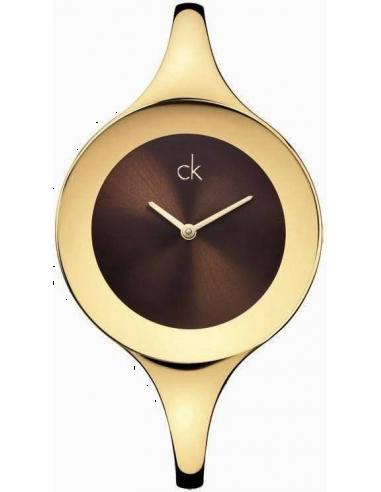 Chic Time | Montre Calvin Klein K2824203 Ck Mirror L brune  | Prix : 214,90€