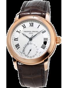 Chic Time | Montre Homme Frédérique Constant Manufacture 710MC4H4 Marron  | Prix : 2,590.00