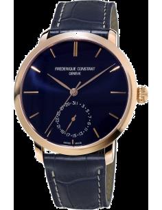 Chic Time | Montre Homme Frédérique Constant Manufacture 710N4S4 Bleu  | Prix : 3,190.00