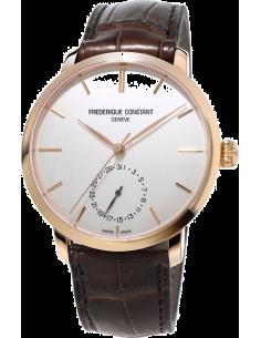 Chic Time | Montre Homme Frédérique Constant Manufacture 710V4S4 Marron  | Prix : 3,190.00