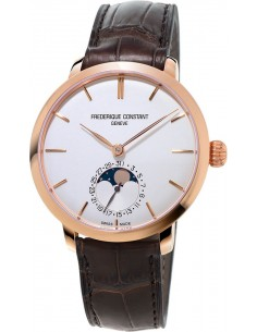 Chic Time | Montre Homme Frédérique Constant Manufacture 703V3S4 Marron  | Prix : 3,650.00