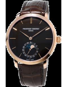 Chic Time | Montre Homme Frédérique Constant Manufacture 705C4S9 Marron  | Prix : 11,250.00