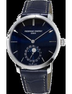 Chic Time | Montre Homme Frédérique Constant Manufacture 705N4S6 Bleu  | Prix : 3,300.00