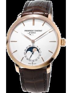 Chic Time | Montre Homme Frédérique Constant Manufacture 705V4S4 Marron  | Prix : 3,650.00