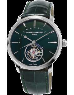 Chic Time | Montre Homme Frédérique Constant Manufacture 980DG4S6 Vert  | Prix : 36,500.00