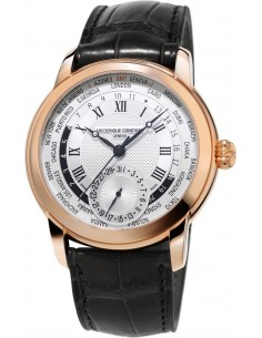 Chic Time | Montre Homme Frédérique Constant Manufacture 718MC4H4 Noir  | Prix : 3,800.00