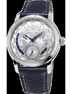 Chic Time | Montre Homme Frédérique Constant Manufacture 718WM4H6 Bleu  | Prix : 3,550.00