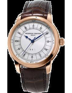 Chic Time | Montre Homme Frédérique Constant Manufacture 724CC4H4 Marron  | Prix : 4,395.00