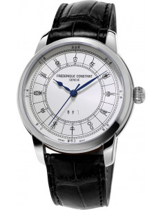 Chic Time | Montre Homme Frédérique Constant Manufacture 724CC4H6 Noir  | Prix : 3,995.00