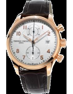 Chic Time | Montre Homme Frédérique Constant Runabout 393RM5B4 Marron  | Prix : 2,990.00