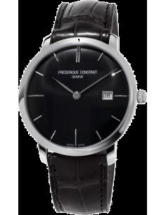 Chic Time | Montre Homme Frédérique Constant Slimline 306G4S6 Noir  | Prix : 1,850.00
