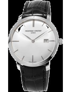 Chic Time | Montre Homme Frédérique Constant Slimline 306S4S6 Noir  | Prix : 1,950.00
