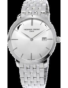 Chic Time | Montre Homme Frédérique Constant Slimline 306S4S6B2 Argent  | Prix : 1,990.00