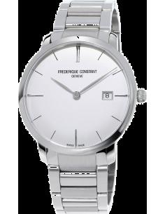 Chic Time | Montre Homme Frédérique Constant Slimline 306S4S6B3 Argent  | Prix : 1,990.00