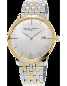 Chic Time | Montre Homme Frédérique Constant Slimline 306V4S3B2 Argent  | Prix : 2,250.00