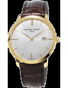 Chic Time | Montre Homme Frédérique Constant Slimline 306V4S5 Marron  | Prix : 2,250.00
