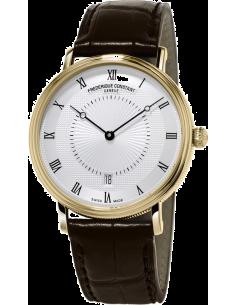 Chic Time | Montre Homme Frédérique Constant Slimline 306MC4S35 Marron  | Prix : 2,110.00