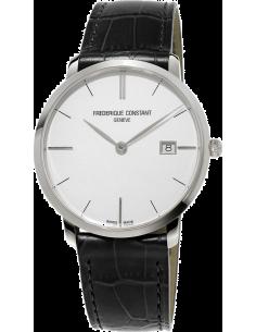 Chic Time | Montre Homme Frédérique Constant Slimline 220S5S6 Noir  | Prix : 695,00€