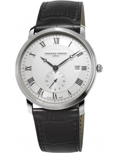 Chic Time | Montre Homme Frédérique Constant Slimline 245M5S6 Noir  | Prix : 780,00€