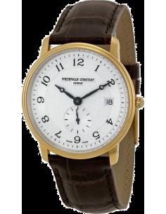 Chic Time | Montre Homme Frédérique Constant Slimline 245AS4S5 Marron  | Prix : 595,00€