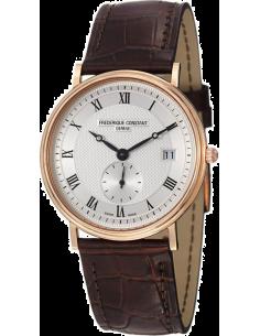 Chic Time | Montre Homme Frédérique Constant Slimline 245M5S7 Marron  | Prix : 2,650.00