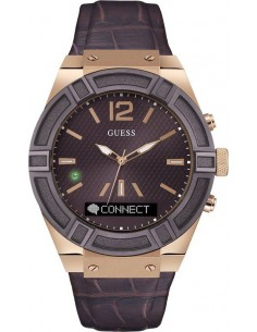 Chic Time | Montre Connectée Guess Connect C0001G2 Marron Smartwatch  | Prix : 399,00€
