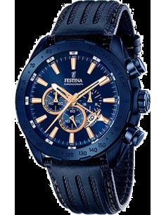 Chic Time   Montre Homme Festina Prestige F16898/1 Bleu    Prix : 229,00€