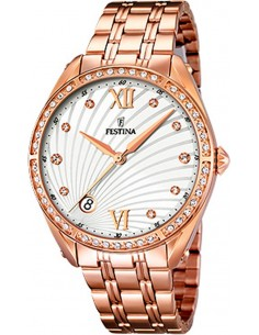 Chic Time | Montre Femme Festina Mademoiselle F16896/1 Or Rose  | Prix : 149,00 €