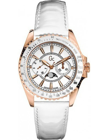 Chic Time | Montre Femme Guess Collection GC Class Moon I41006M1  | Prix : 379,99€
