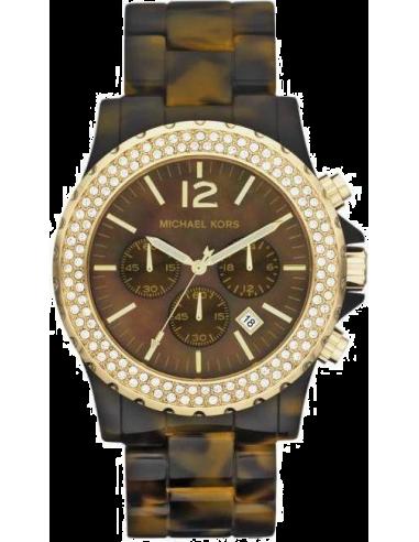 Chic Time   Montre Femme Michael Kors MK5557 Marron    Prix : 124,50€