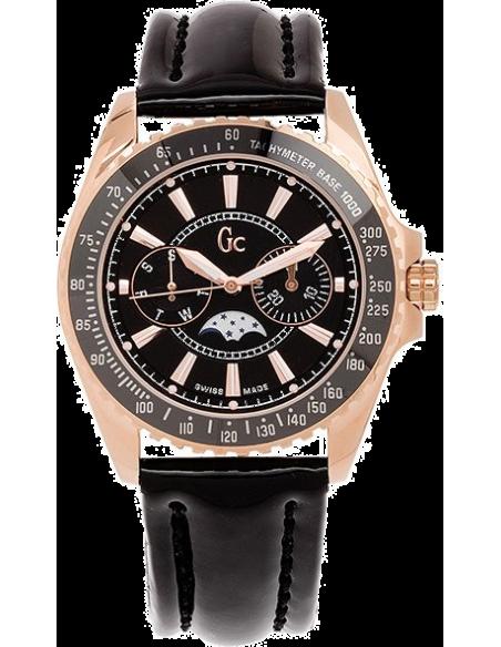 Chic Time | Montre Femme Guess Collection I41006M2 Noir  | Prix : 535,00€