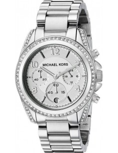 Chic Time   Montre Femme Michael Kors Blair MK5165 Bracelet acier argenté    Prix : 239,20€