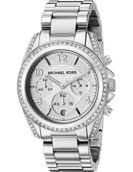 Chic Time | Montre Femme Michael Kors Blair MK5165 Bracelet acier argenté  | Prix : 149,40€