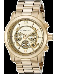 Chic Time | Montre Michael Kors Runway MK8077 Bracelet acier doré  | Prix : 124,50€