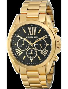 Chic Time | Montre Michael Kors Bradshaw MK5739 Bracelet doré et cadran noir  | Prix : 149,40€