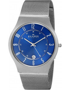 Chic Time | Montre Homme Skagen Grenen 233XLTTN Bracelet en titane  | Prix : 149,93€